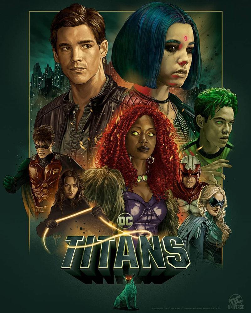 """Πρώτο Trailer Απο Την Δεύτερη Σεζόν Του """"Titans"""""""