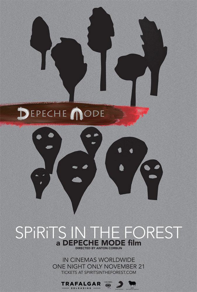 """Πρώτη Ματιά Στο Ντοκιμαντέρ """"Depeche Mode Spirits in the Forest"""""""