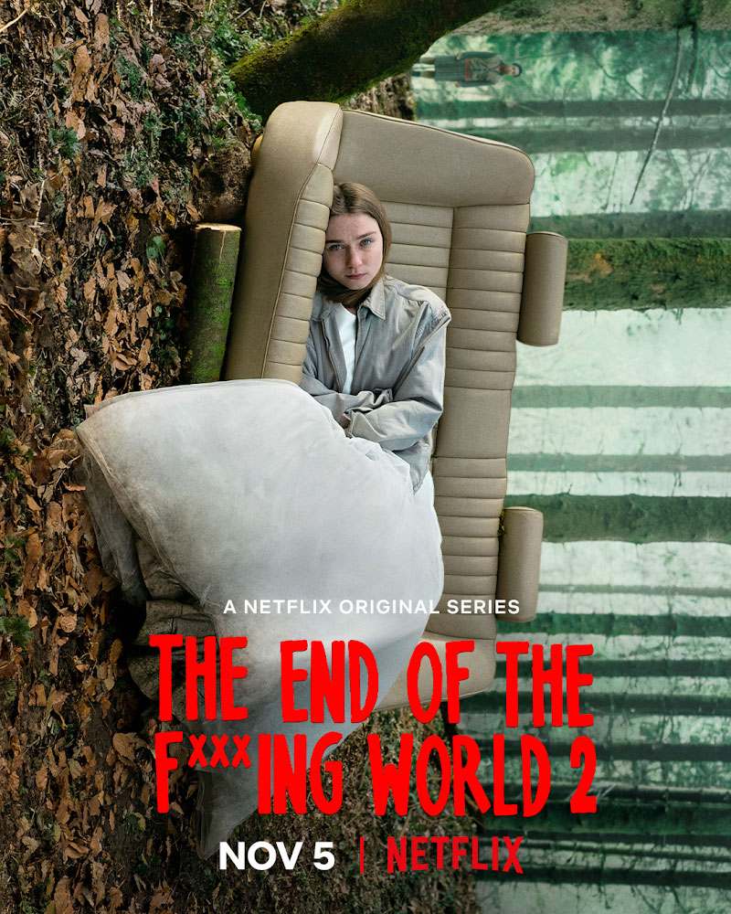 """Trailer Απο Την Δεύτερη Σεζόν Του """"The End of the F***king World"""""""