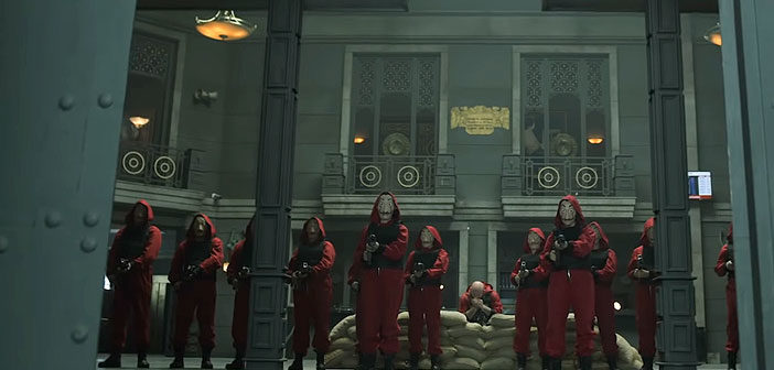 """Πρώτο Trailer Απο Την 4η Σεζόν Του """"La Casa De Papel"""""""