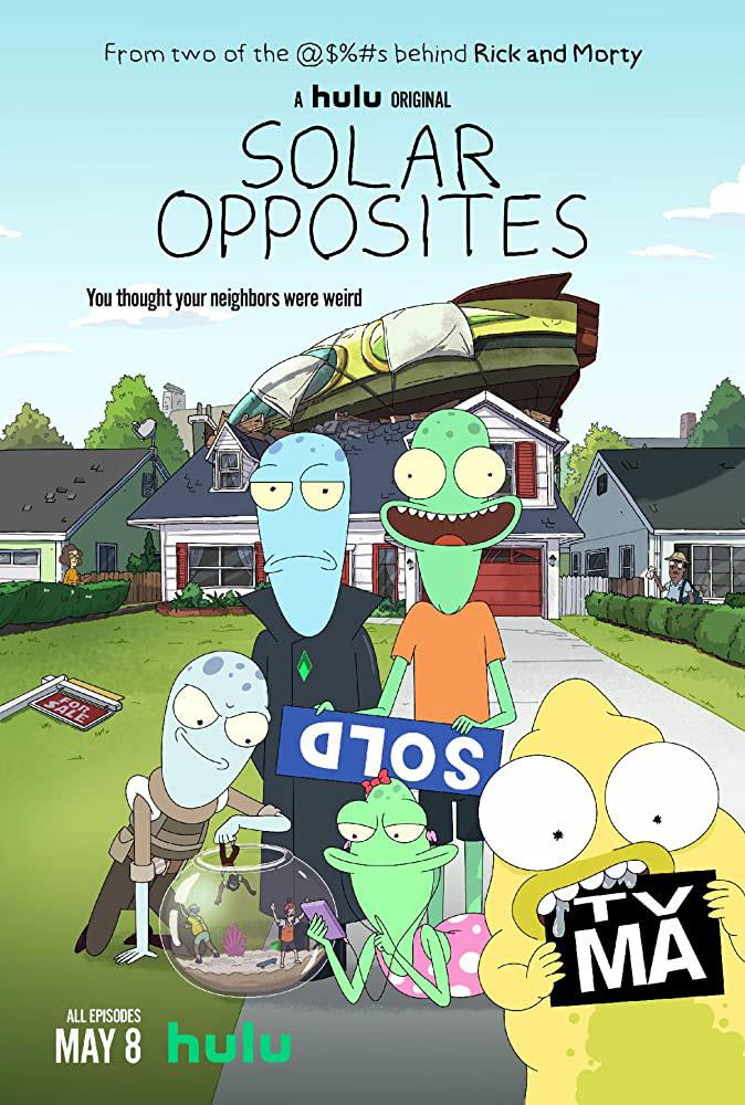 """Πρώτο Trailer Απο Το """"Solar Opposites"""" Του Hulu"""