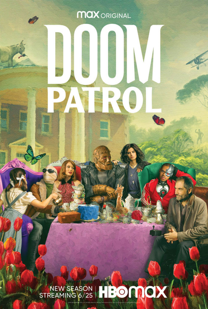 """Πρώτο Trailer Απο Την Δεύτερη Σεζόν Του """"Doom Patrol"""""""