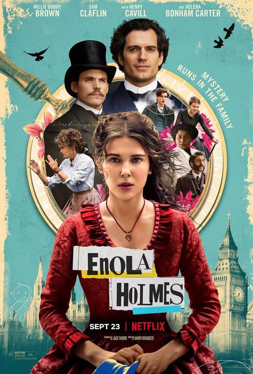 """Πρώτο Trailer Από Το """"Enola Holmes"""" Του Netflix"""