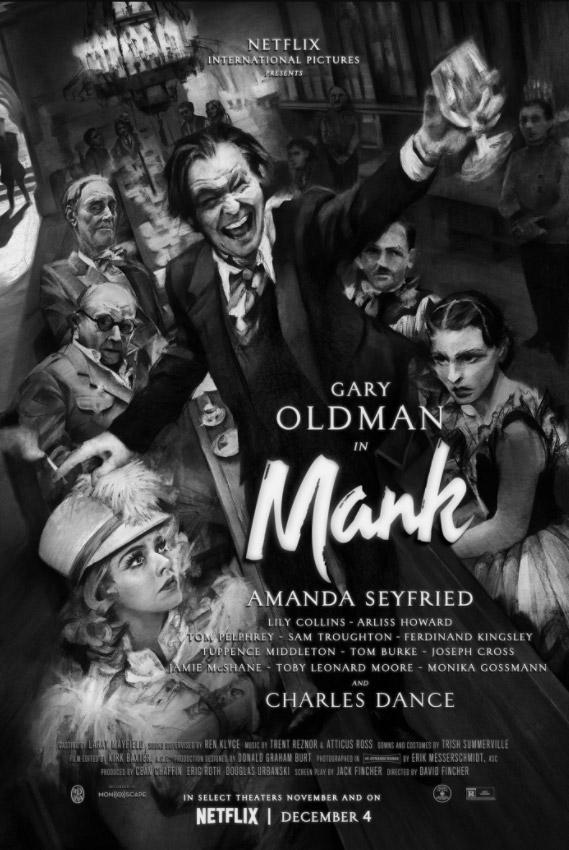 """Νέο Trailer Από Το """"Mank"""" Του Netflix"""