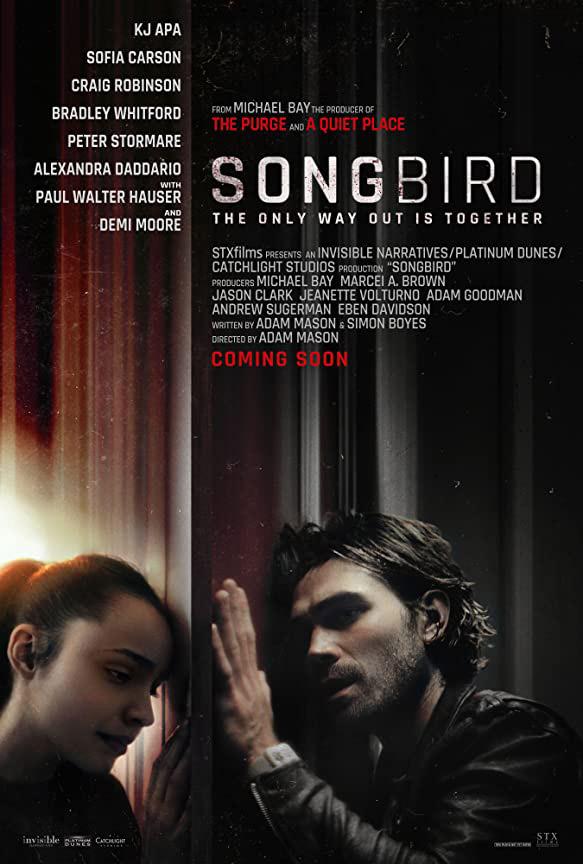 """Trailer Από Το Δραματικό Θρίλερ """"Songbird"""""""