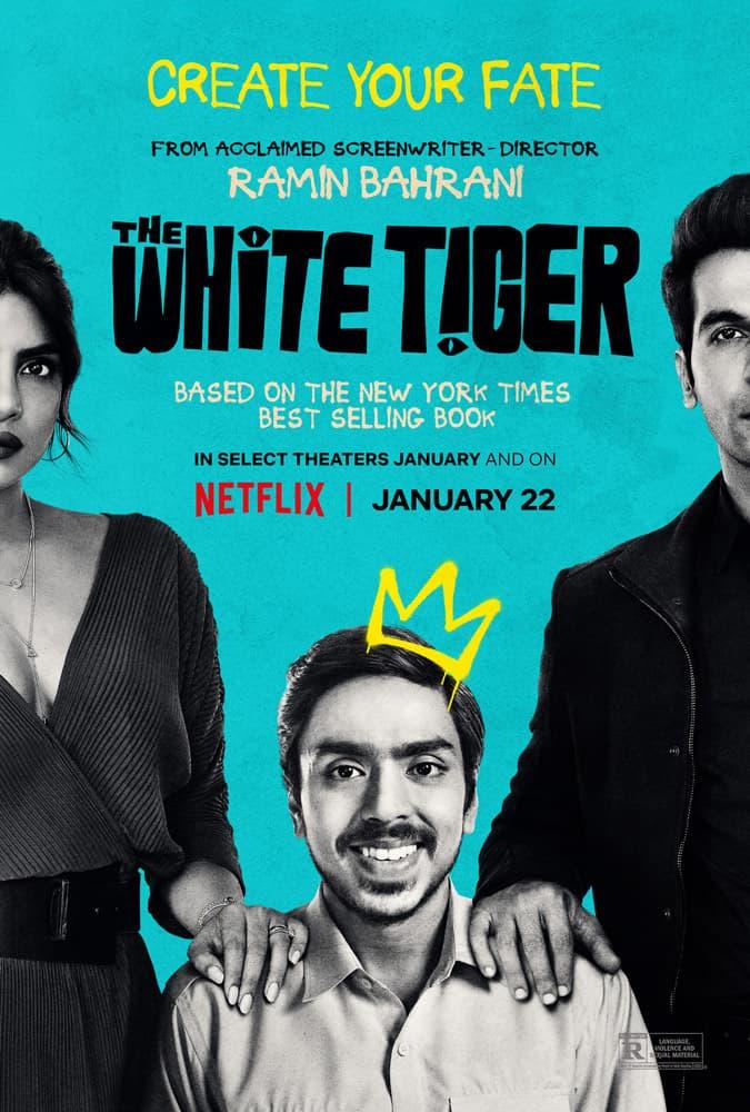 """Trailer Από Το """"The White Tiger"""" Του Netflix"""
