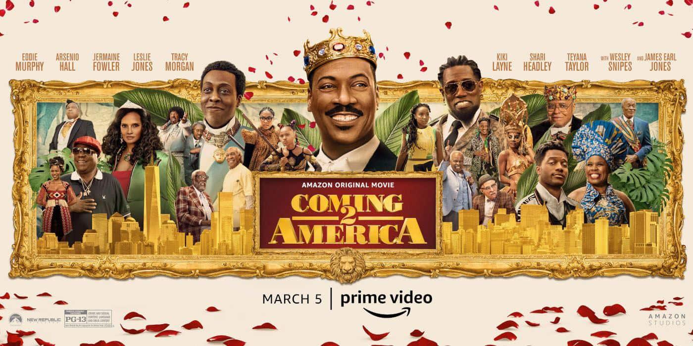 """Νέο Trailer Από Το """"Coming 2 America"""""""