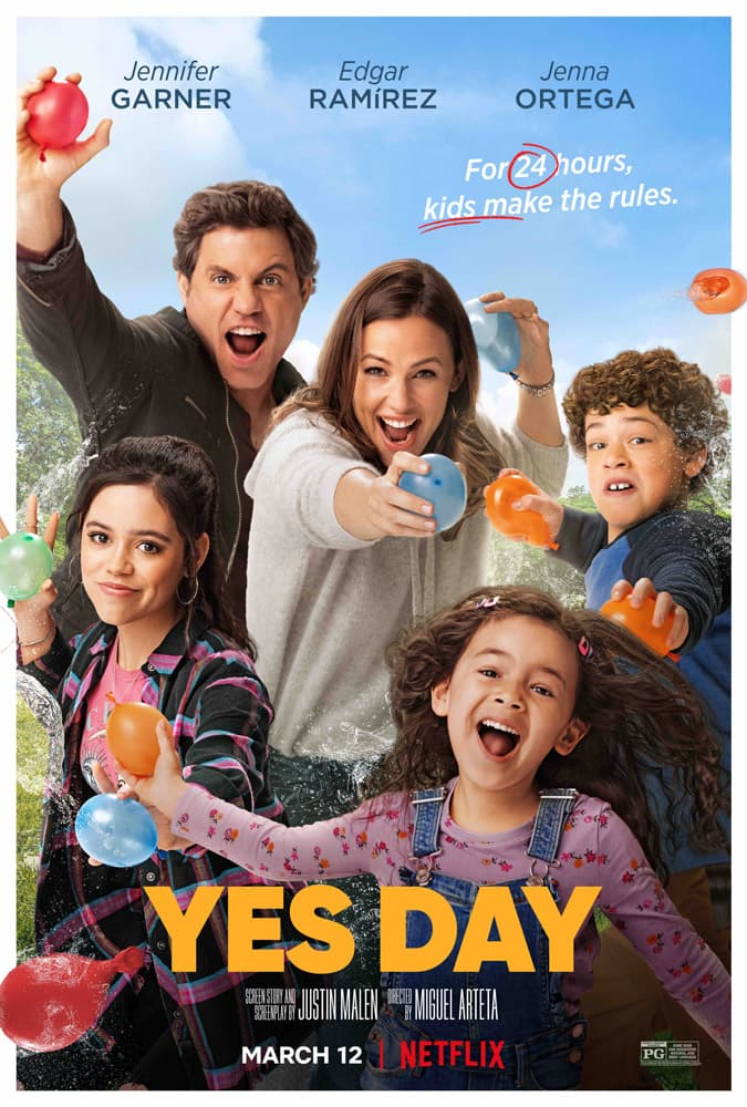 "Trailer Από Την Κωμωδία ""Yes Day"" Του Netflix"
