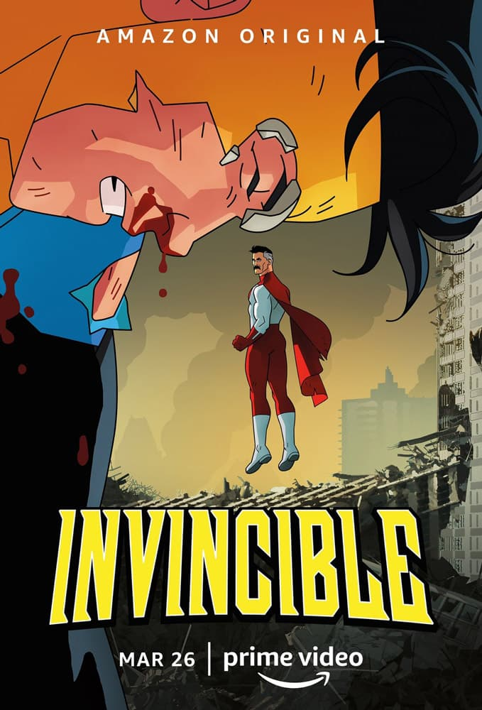 "Trailer Από Το Animated ""Invincible"""